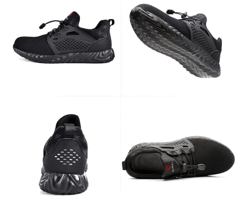women's safety shoes fashionable
