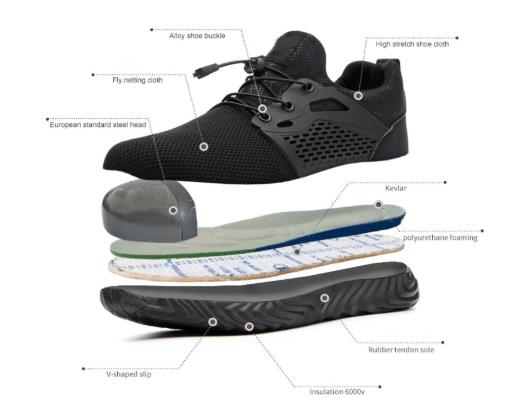 nike steel toe shoes women's