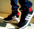 Adidas Originals Extaball Black High Top Sneakers