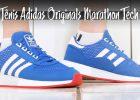 TÊNIS ADIDAS ORIGINALS MARATHON TECH | Blue / Off White / Glory Red | EF4399